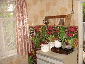 Деревянный домик, кухня 1