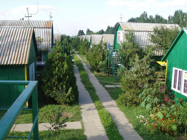 База отдыха «Славутич» вид с Моря (Большевик) Приморское
